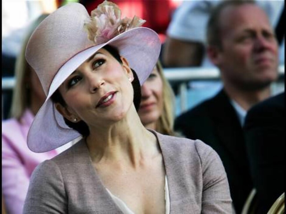 ** FILE ** Denmark's pregnant Crown Princess Mary is seen in this recent but undated file photo. Denmark's pregnant Crown Princess Mary has been hospitalized after having contractions six weeks before her due date, the palace and doctors said in Copenhage Foto: AP