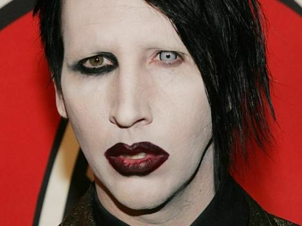 Marilyn Manson arrives at the celebration for Rolling Stone Magazine's 1000th Cover at the Hammerstein Ballroom in Manhattan on May 4, 2006 as part of the Tribeca Film Festival.  Photo: William Gratz/ABACAUSA Code: 4001/A29569  COPYRIGHT STELLA PICTURES Foto: Stella Pictures