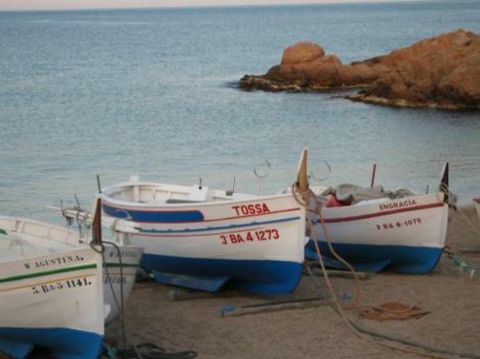 FISKERBY: Havets rikdom var en gang i tiden også grunnlaget for mye av bosettingen i Tossa de Mar.  Foto: Per Tandberg