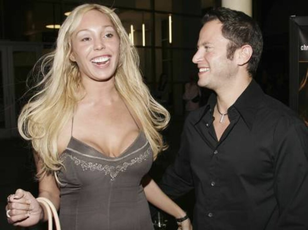 """LOS ANGELES - FEBRUARY 6:  Actress Mary Carey and actor David Lipper attend the premiere of the Samuel Goldwyn Films' """"London"""" on February 6, 2006 at the Arclight Theatres in Hollywood, California. (Photo by Vince Bucci/Getty Images) *** Local Caption *** Foto: All Over Press"""