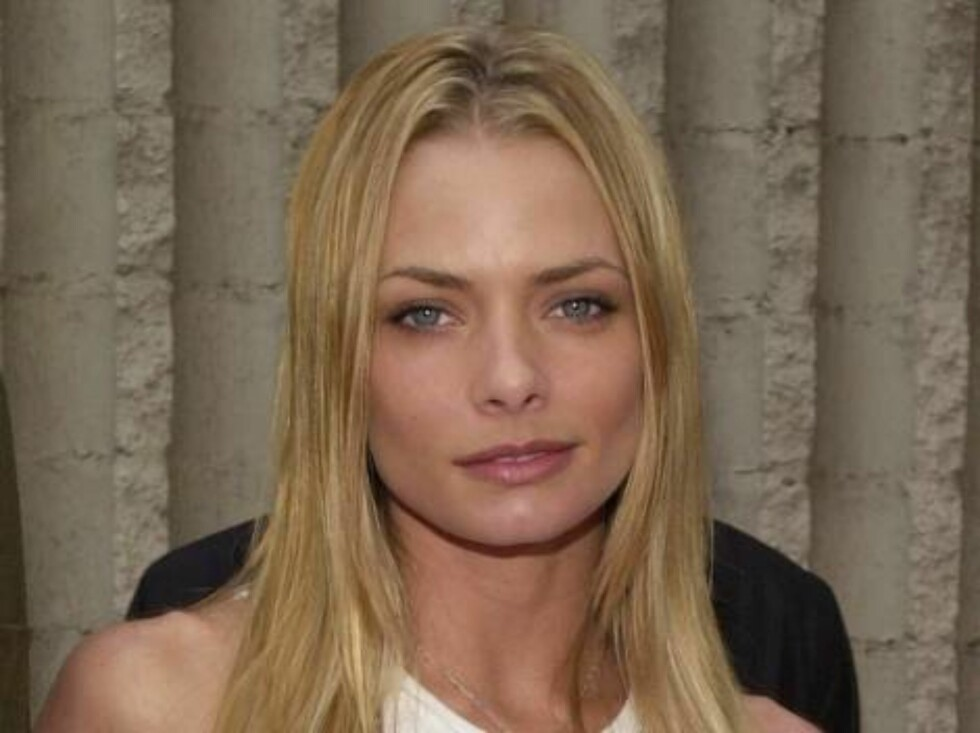 """387317 10:  Actress Jamie Pressly arrives at the world premiere of Columbia Pictures' """"Joe Dirt"""" April 1, 2001 in Westwood, CA.  """"Joe'"""" opens April 11 in theatres across the United States.  (Photo by Chris Weeks/Liaison) ALL OVER PRESS Foto: All Over Press"""