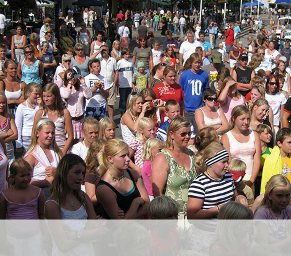Arendal er klar for Se og Hør Sommershow Foto: Unni Eiklid