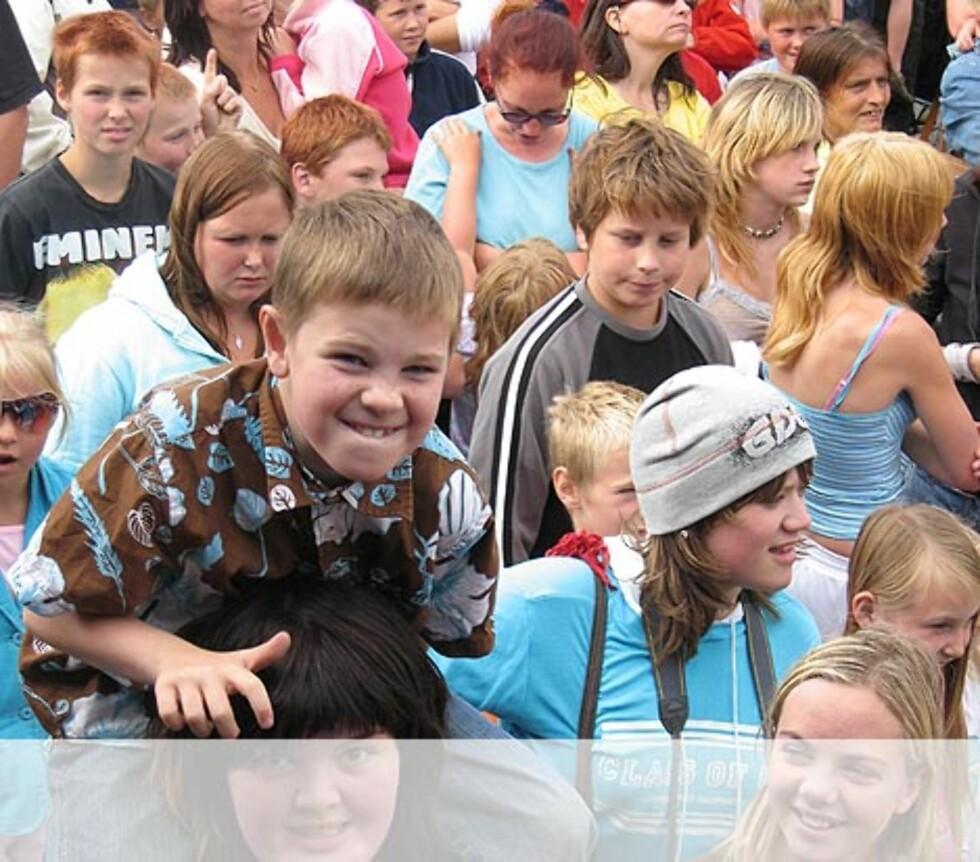 Må se godt når man er på show - Flekkefjord Foto: Unni Eiklid