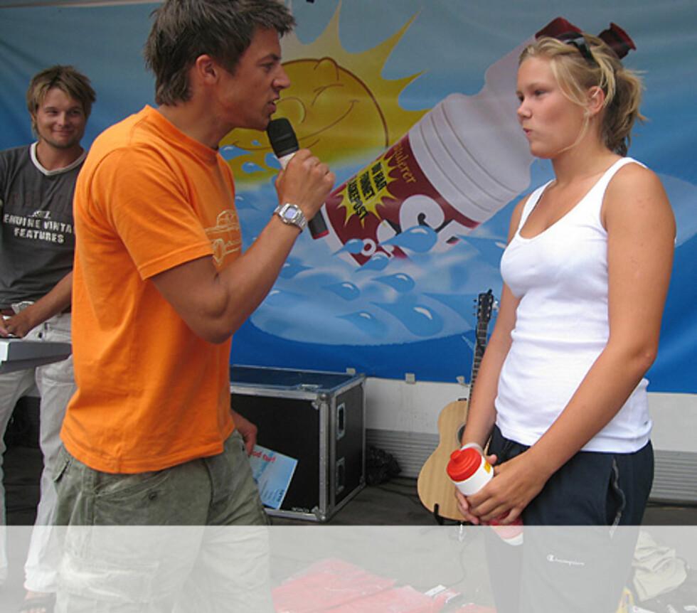 Sydentur vinneren på Nes Camping Foto: Unni Eiklid