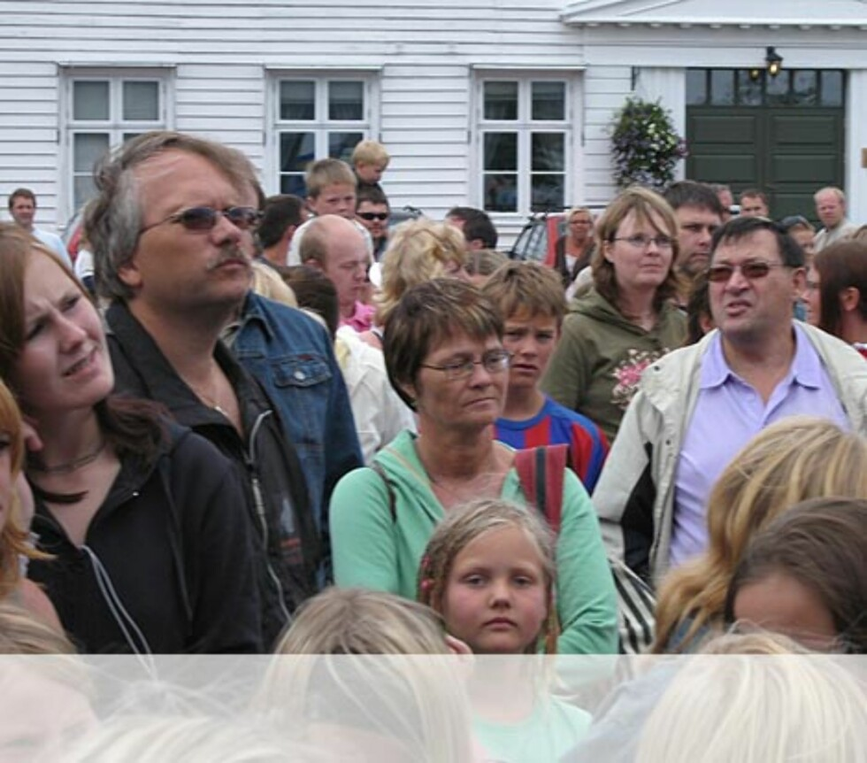 Publikum i Flekkefjord. Foto: Unni Eiklid
