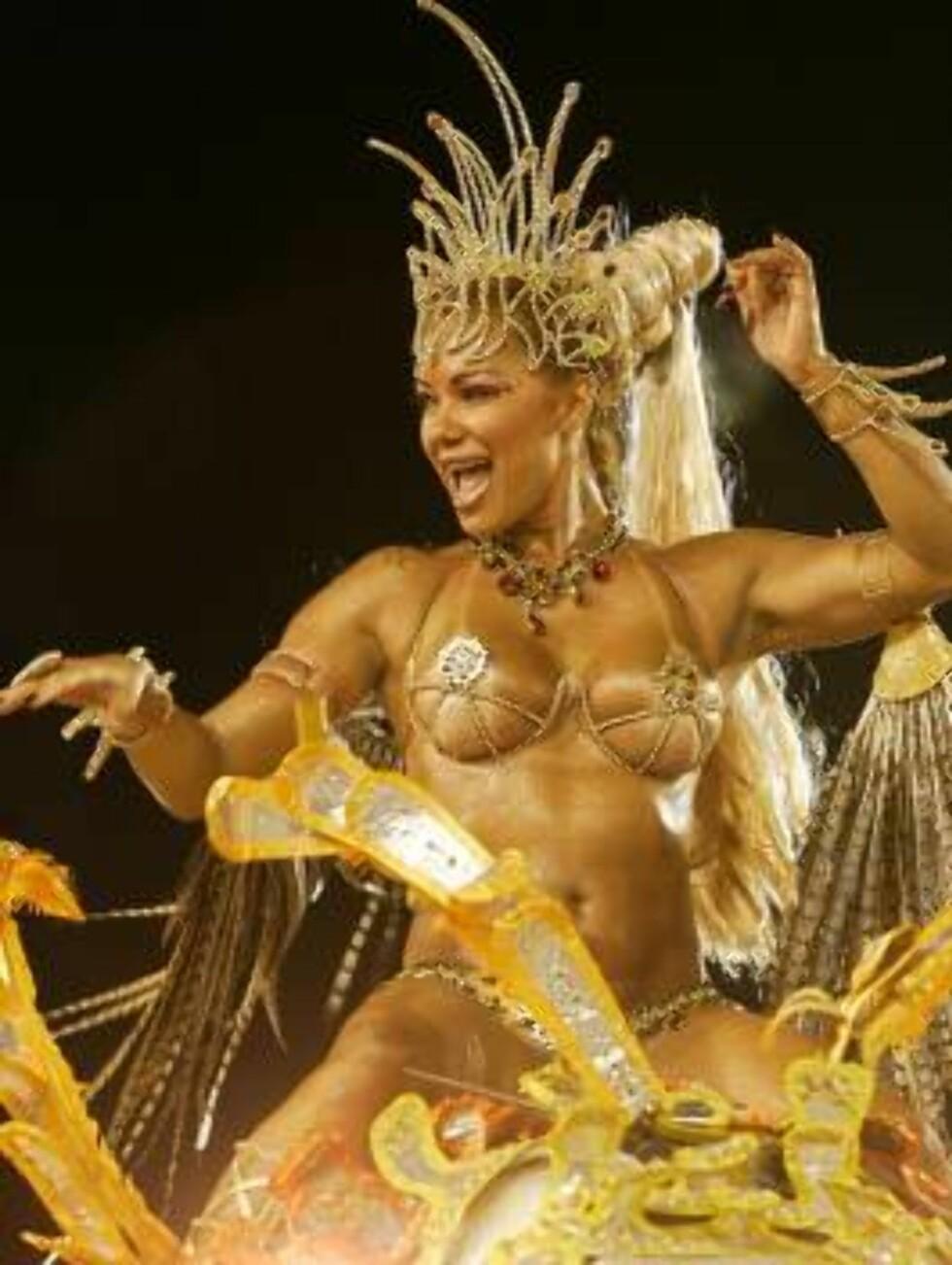 SAMBA: Stemningen var på topp i Rio de Janeiro Foto: SCANPIX