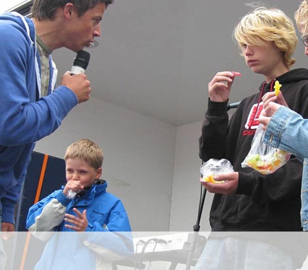 Konkurransen er i gang - Haugesund. Foto: Unni Eiklid