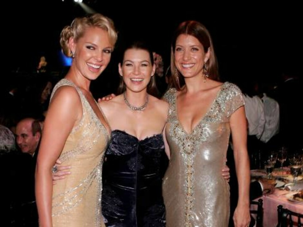 LOS ANGELES - AUGUST 27:  Actors Kathrine Heigl, Ellen Pompeo and Kate Walsh attends the Governor's Ball after the 58th Annual Primetime Emmy Awards at the Shrine Auditorium on August 27, 2006 in Los Angeles, California.  (Photo by Vince Bucci/Getty Image Foto: All Over Press