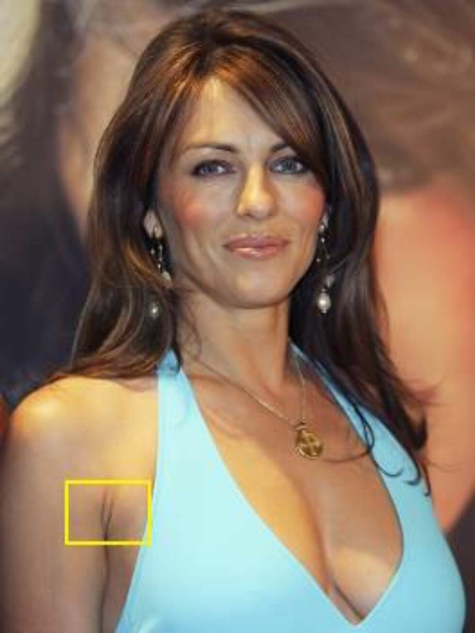 MELBOURNE, AUSTRALIA - AUGUST 31: Elizabeth Hurley attends the launch of the Elizabeth Hurley Beach Collection on at David Jones August 31, 2005 in Melbourne, Australia.  (Photo by David Teuma/Getty Images) / ALL OVER PRESS53455313DT010_Elizabeth_Hur *** Foto: All Over Press
