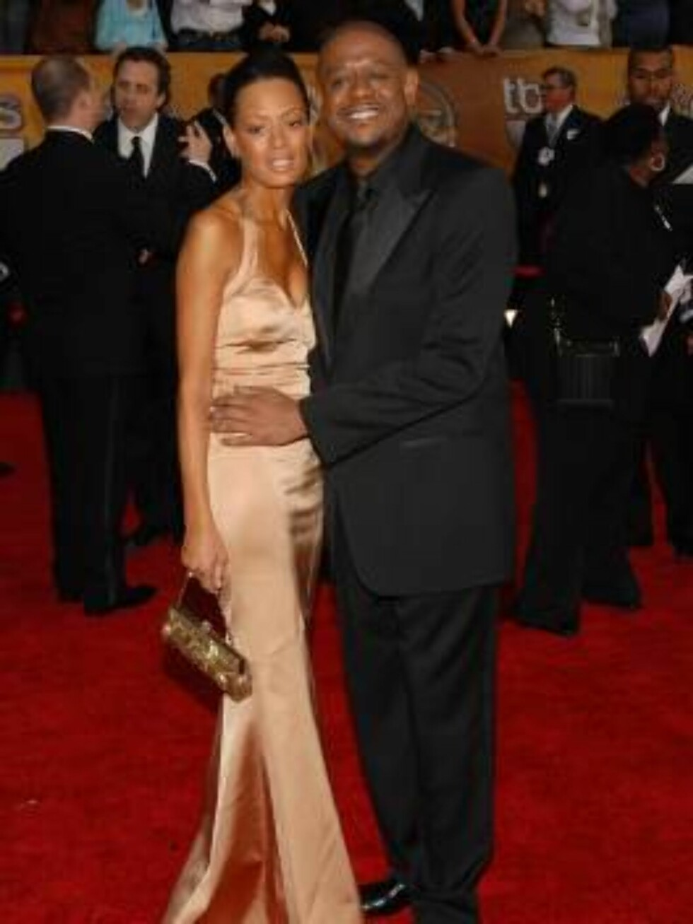 LOS ANGELES 2007-01-28.  Forest Whitaker and Keisha Whitaker at the 13th Annual Screen Actors Guild Awards held at the Shrine Auditorium in Los Angeles on January 28th, 2007.   Photo by Lionel Hahn/AbacaUsa Code: 4001/A35886  COPYRIGHT STELLA PICTURES Foto: Stella Pictures