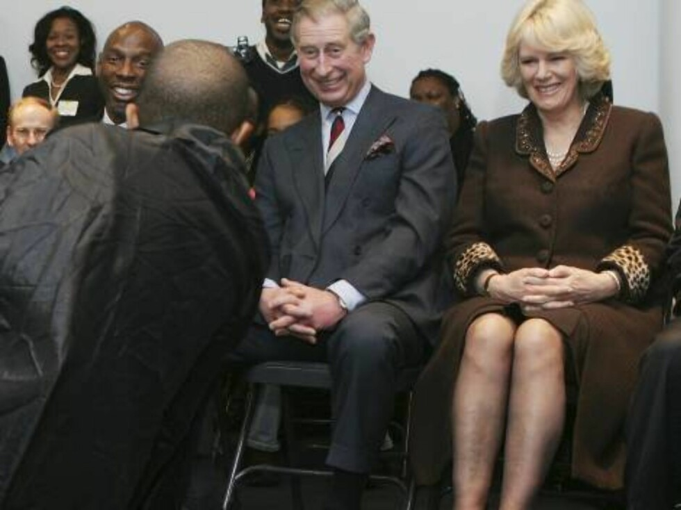 """NEW YORK - JANUARY 28:  Britain's Prince Charles, Prince of Wales (C) and his wife Camilla, Duchess of Cornwall watch a rehearsal of """"A Midsummer Night's Dream"""" at the Harlem Children's Zone Community Center in New York January 28, 2007 in New York City. Foto: All Over Press"""