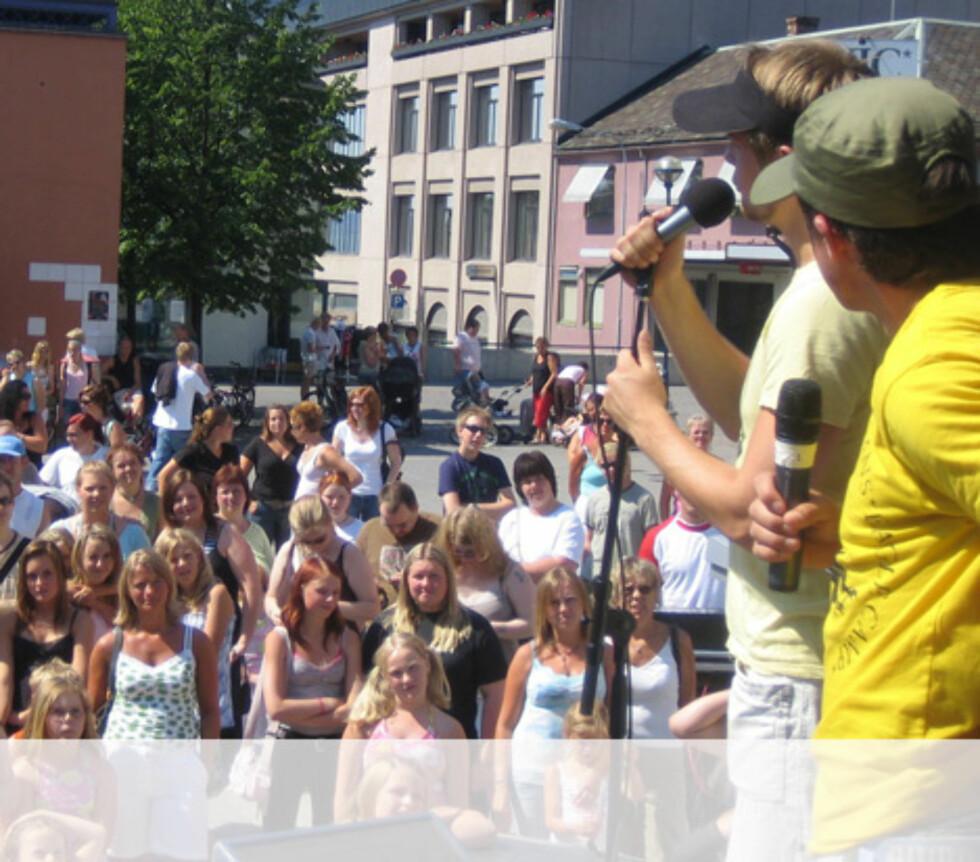 Hett i Hamar. Foto: Unni Eiklid