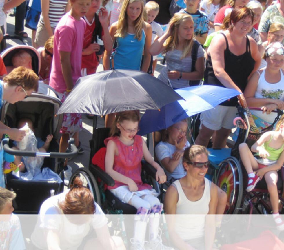 Glade publikumere på Hamar. Foto: Unni Eiklid