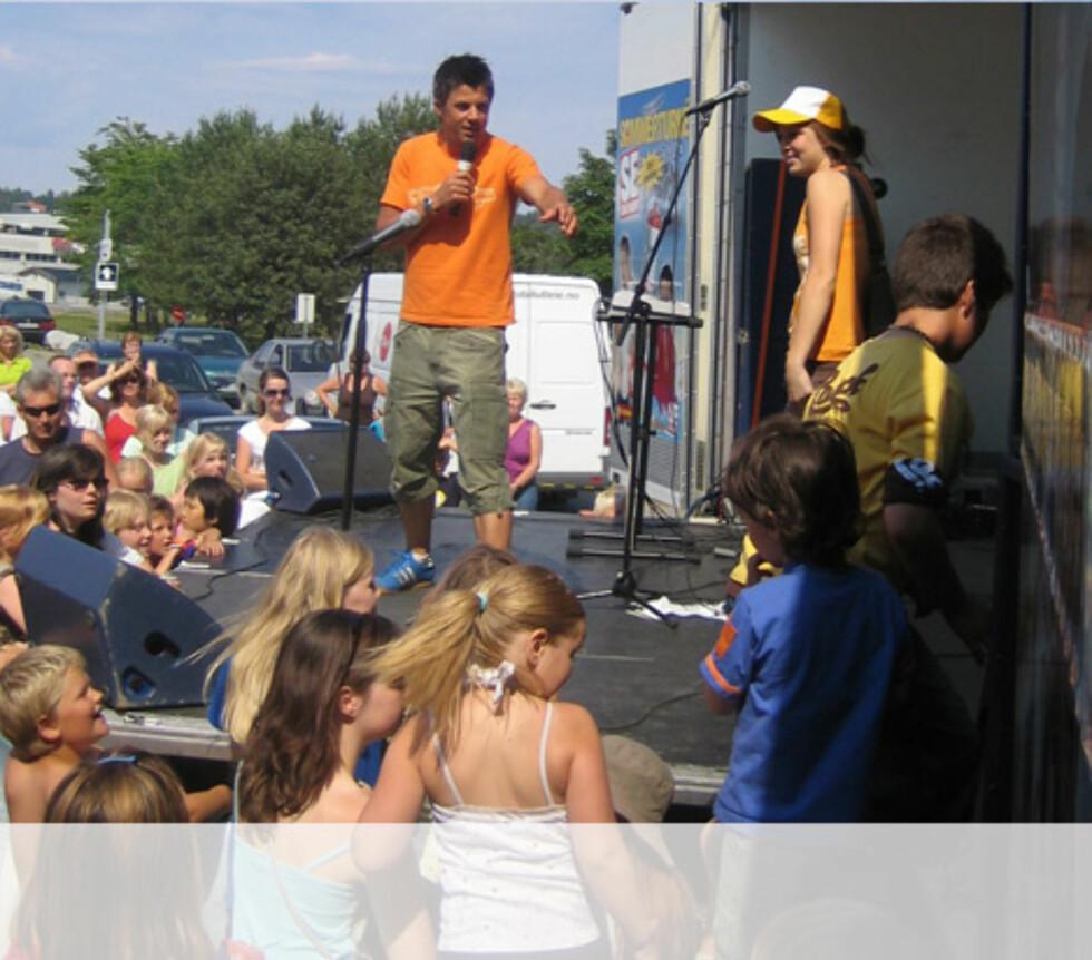 Ivrige deltakere til ny konkurranse i Steinkjer Foto: Unni Eiklid