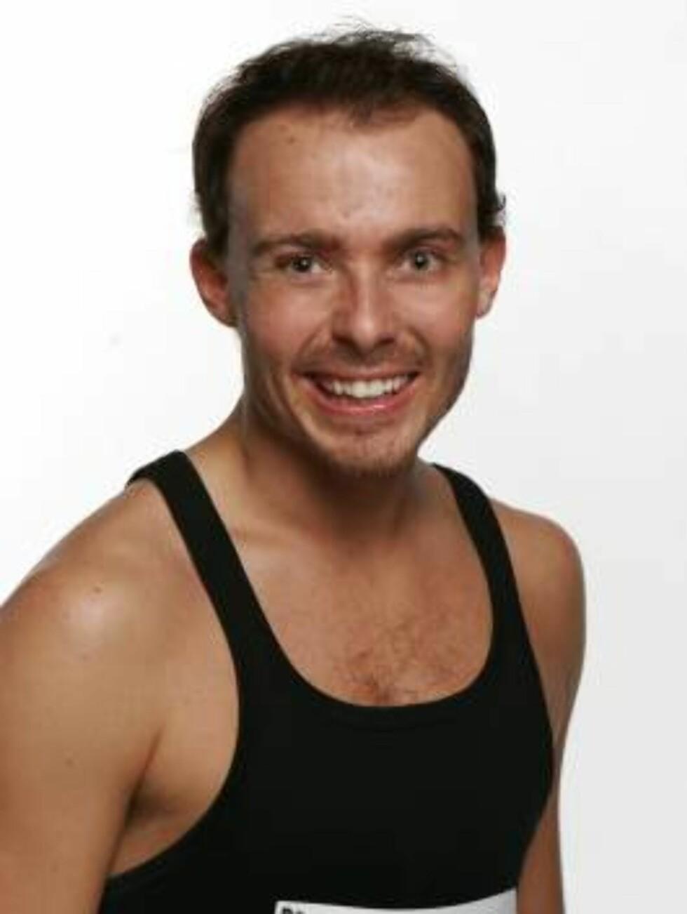 BJØRN HOLTHE (25): Fra Oslo. Danser sportsdans. Foto: TVNorge