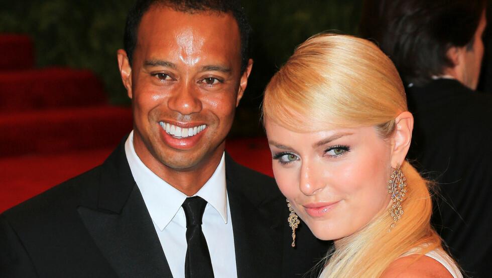 FÅR SMAKE SIN EGEN MEDISIN?: Ifølge The National Enquirer har Tiger Woods kjæreste Lindsey Vonn vært utro. Her fra MET-gallaen i New York i år.  Foto: Jackson Lee / Splash News/ All Over Press