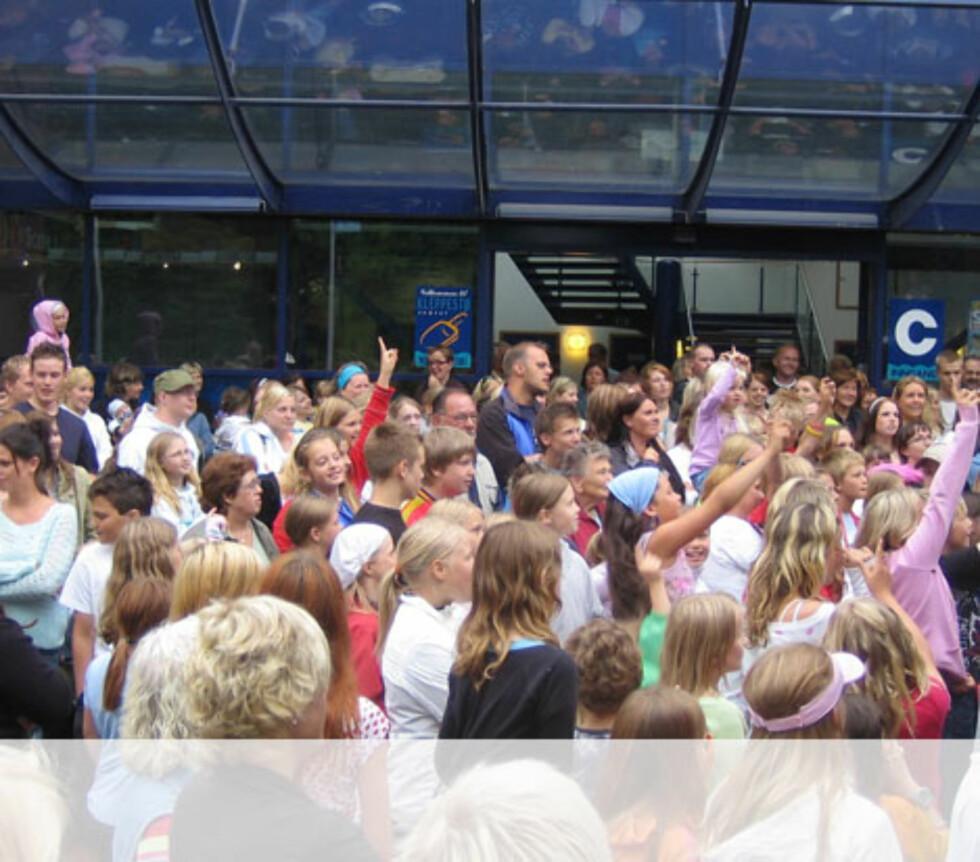 Mange som vil være med på kokurranser på Askøy Foto: Unni Eiklid