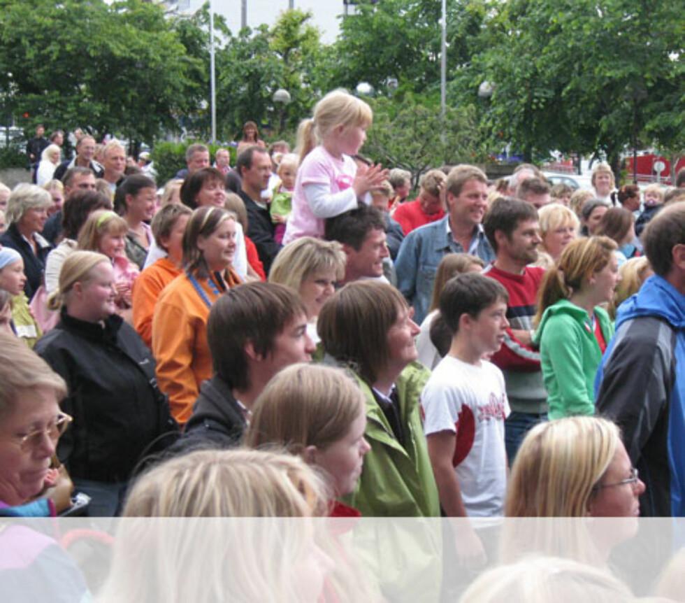 Ålesund publikum Foto: Unni Eiklid
