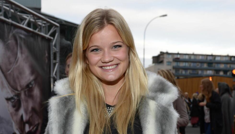 FIKK KLEM: Da Lyng Haugen gjestet Storbymorgen på P5 avslørte hun at hun fikk en god klem av Justin Bieber. Foto: Stella Pictures