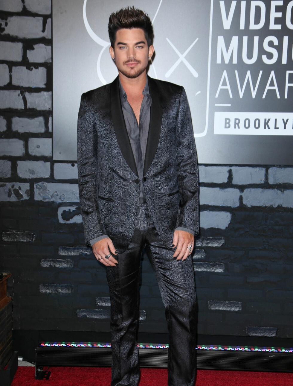 MTV MUSIC VIDEO AWARDS 2013: Artist Adam Lambert. Foto: REX/All Over Press