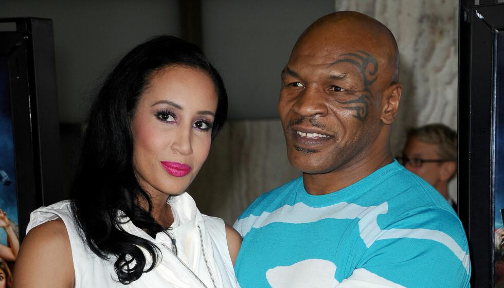 TRENGER HJELP: Siden 2009 har Mike Tyson vært gift med Lakiha Spicer, og sammen har de to barn. Tyson har i tillegg seks unger til fra tidligere forhold. Foto: FAME FLYNET