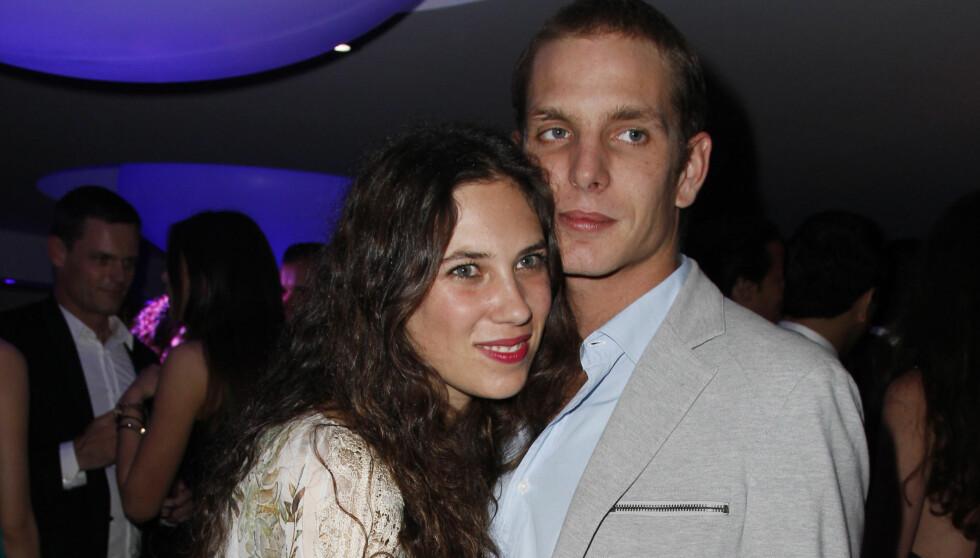 SIER JA: Lørdag 31.august er det ventet at Andrea Casiraghi og hans forlovede Tatiana gifter seg. Paret har sønnen Sacha, som ble født 21.mars i år. Foto: Stella Pictures