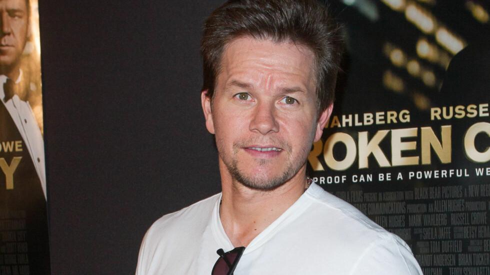 BEKYMRET: Filmstjernen Mark Wahlberg trodde han hadde ødelagt forholdet til David Beckham med sine krasse uttalelser. Foto: All Over Press