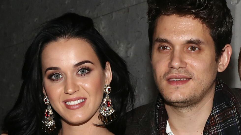 FORELSKET: Katy Perry og John Mayer gjorde det slutt i mars, men skal allerede ha funnet tilbake til hverandre. Foto: All Over Press