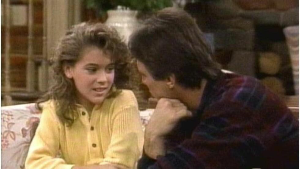 BARNESTJERNE: Alyssa Milano slo igjennom som skuespiller allerede da hun var tenåring, i serien «Who's The Boss?». Det var ikke alltid like enkelt, ifølge henne selv.
