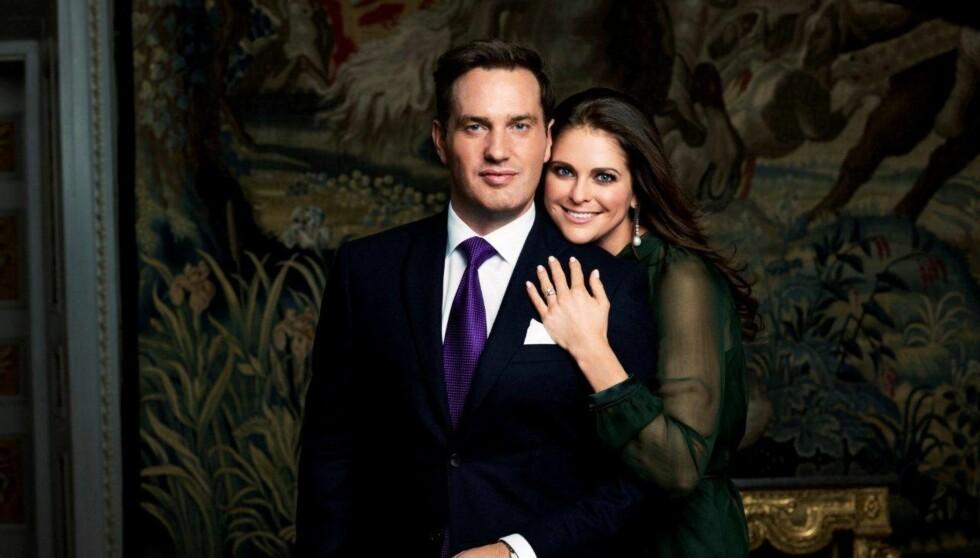 SNART BRYLLUP: 8. juni gifter prinsesse Madeleine seg med Chris O´Neill i Slottskyrkan i Stockholm. Se og Hør er på plass og gir deg alt om drømmebryllupet både i Se og Hør og her på Seoghør.no Foto: Det svenske hoff