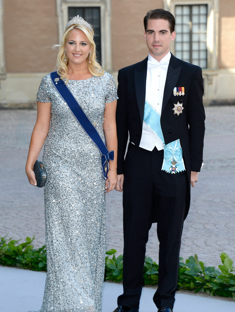 GLITRENDE: Prinsesse Theodora og prins Philippos av Hellas. Foto: All Over Press