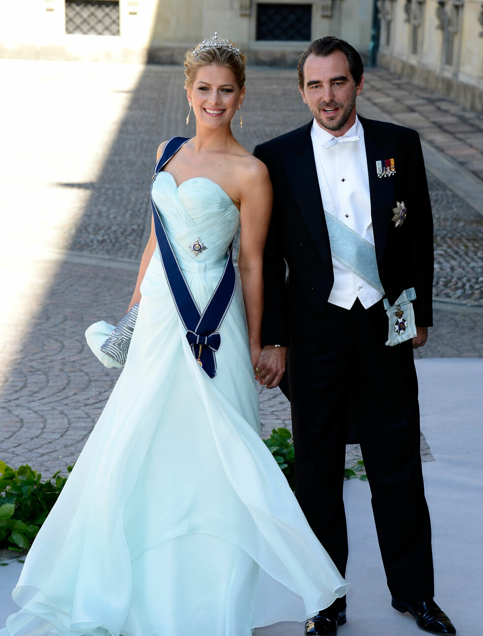 ISBLÅTT: Prins Nikolaos og Prinsesse Tatiana av Hellas. Foto: All Over Press