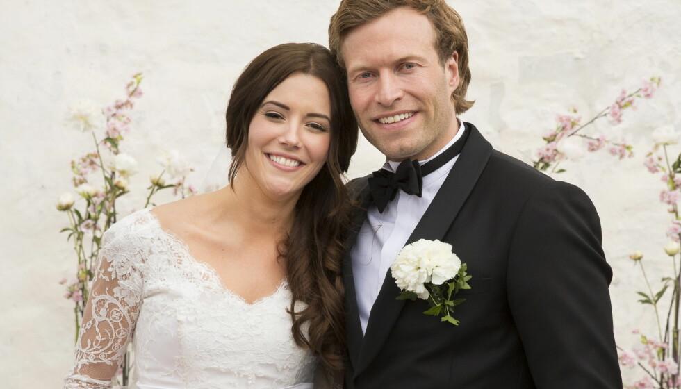 GIFTET SEG: Marion Ravn og Andreas Ygre Wiig har vært sammen siden 2006. 25. mai giftet de seg på Nøtterøy. Foto: Espen Solli, Se og Hør