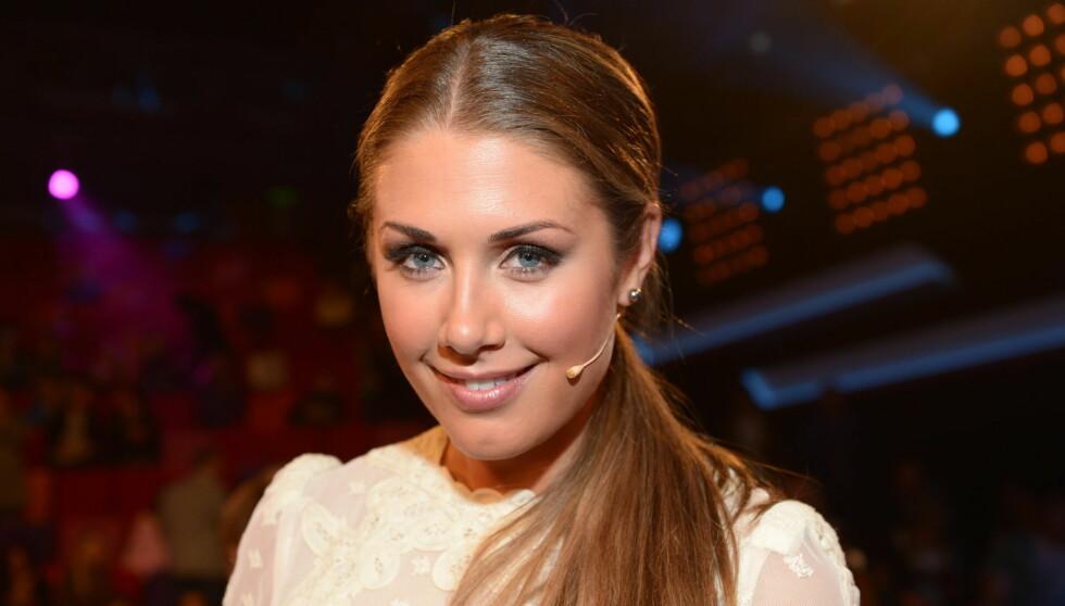FORELSKET: Tone Damli Aaberge (25) var langt nede etter bruddet med Aksel Hennie. Nå smiler lykken igjen! Foto: Stella Pictures