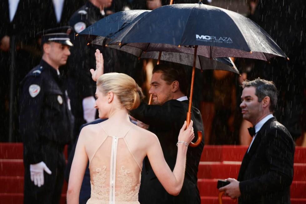 CANNES: Leonardo DiCaprio og Elizabeth Debicki. Foto: All Over Press