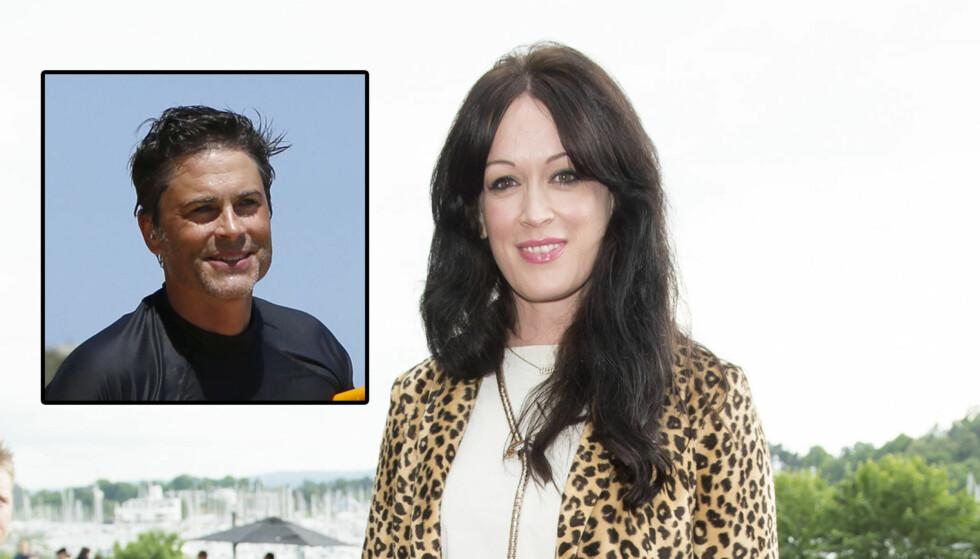 FYLLER ÅR: Filmfestivalen begynner samme dag som Heldal fyller 40. Hun håper skuespillerkjekkasen Rob Lowe spanderer kaffe og kake på henne på fødselsdagen. Foto: Stella Pictures