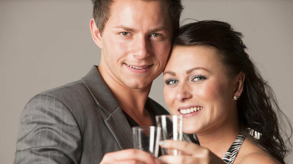 <strong>BRUDD:</strong> Paradise-paret Kristian René Johansen og Tina Skovdal har brutt forlovelsen. Foto: Erlend Haugen, Se og Hør
