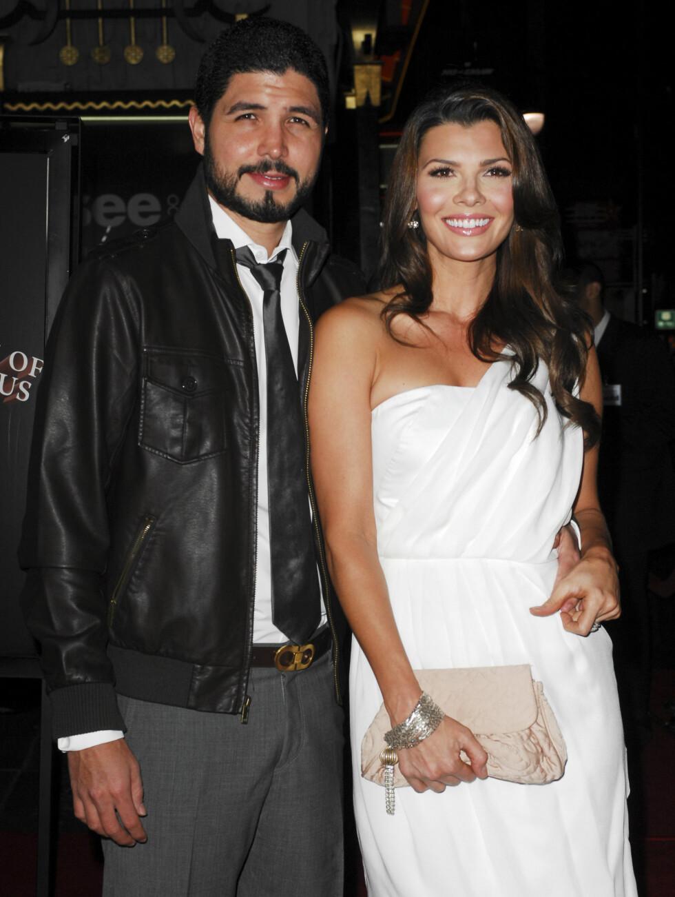 VILLE IKKE BEGÅ NYE FEIL: Da Ali Landery giftet seg med Alejandro Monteverde i 2006, sa hun: «Jeg ville ikke gjøre de samme feilene i dette ekteskapet som i det forrige. Vi har valgt å avstå fra sex før etter ekteskapet». I 2004 giftet hun seg med  Foto: FAME FLYNET