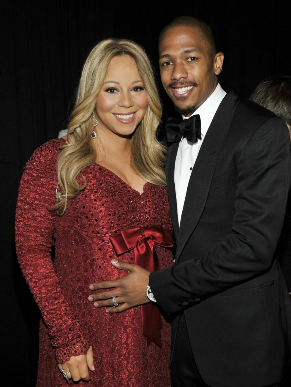 HELLIG: Mariah Carey og Nick Cannon hadde ikke sex med hverandre før bryllupsnatten. I dag er de to foreldre til tvillingene Monroe og Moroccan.  Foto: All Over Press