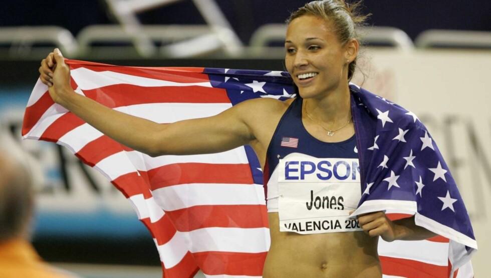 KAMP: Den amerikanske friidrettsstjernen kjemper en tøff kamp også på hjemmebane. Hun har nemlig bestemt seg for å spare seg til sin fremtidige ektemann. - Det er vanskelig, mye verre enn å trene for OL og hardere enn å studere på college, har hun  Foto: AP