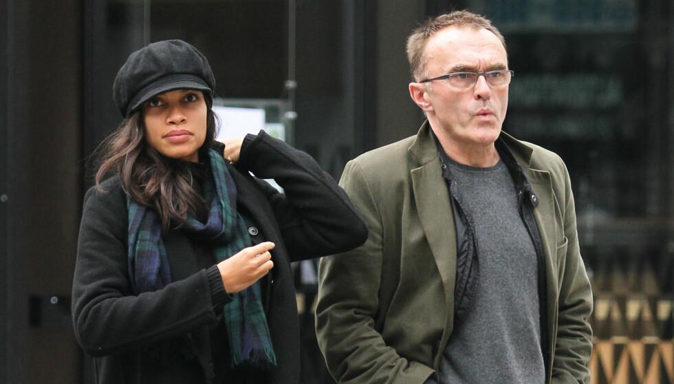 BRUDD: Rosario Dawson og den 22 år eldre kjæresten Danny Boyle har gått hvert til sitt, melder The Sun.  Foto: Stella Pictures