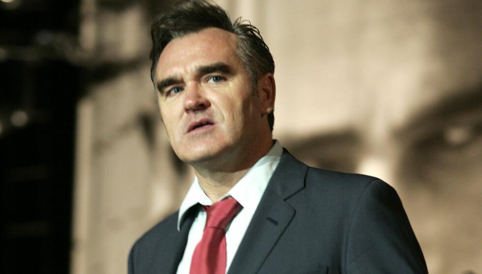 SYK: Morrissey har vært nødt til å avlyse en rekke USA-konserter som følge av dårlig helse. Nå ligger han innlagt på sykehuset i San Francisco.  Foto: Stella Pictures