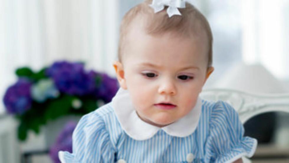 FÅR INGENTING: Prinsesse Estelle er ikke nevnt i testamentet til prinsesse Lillian. Foto: Kate Gabor/Kungahuset.se