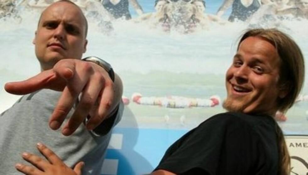 TIL TOPPS : I 2010 gikk Stian Thorbjørnsen og kameraten Lasse Jensen til topps i «Se og Hørs Sommerstjerner». Nå har gruppen «Staysman og Lazz» solgt til gull med sin nye single «Frøken Möet» Foto: Se og Hør