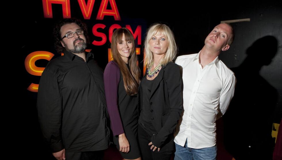 DOMMERE: Bertine Zetlitz var Idol-dommer sammen med Hans Erik Dyvik-Husby, Marion Ravn og Gunnar Greve Pettersen i 2011. Foto: Se og Hør