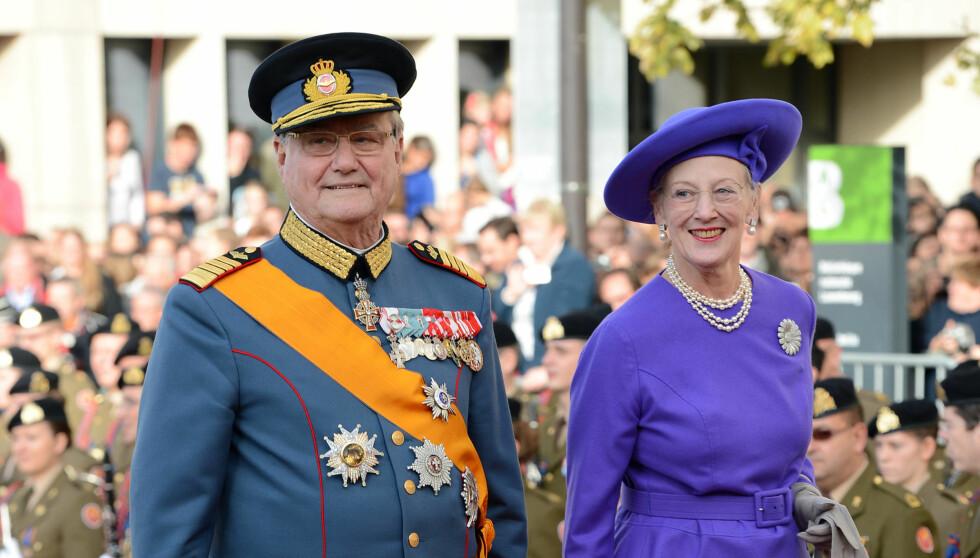 """TITTEL TIL BESVÆR: Prins Henrik mener det er urettferdig at han ikke får tittelen """"konge"""". Foto: All Over Press"""