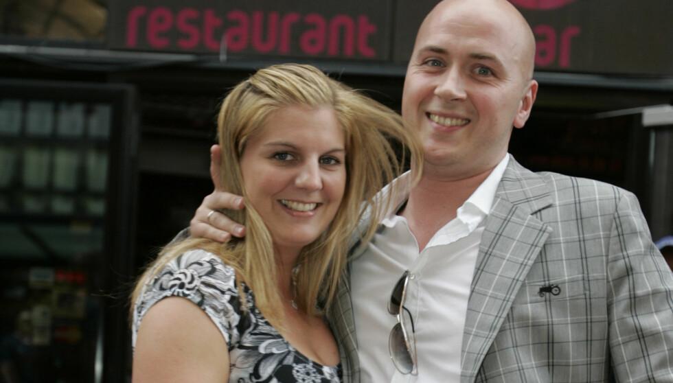 FLOTT PAR: Terje og kona Katrine Myrenget. Paret giftet seg i fjor sommer - seks år etter at Terje fridde. Foto: Stella Pictures