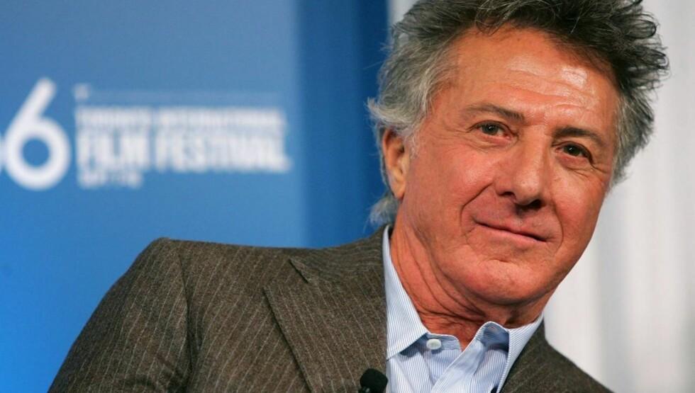 SUKSESSFULL: Dustin Hoffman har vunnet en rekke priser for sin presentasjon på lerretet, og er kjent fra filmer som «Rain Man», «Tootsie», «Hook» og «Runaway Jury». Foto: All Over Press