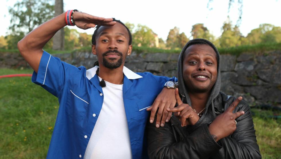 DRØMMER STORT: Tshawe og Yosef har satt seg høye mål og mener selv at de ikke er urealistiske. Foto: FAME FLYNET