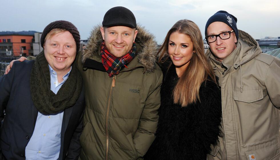 I VINDEN: Tone gjør suksess som en av fire dommere i «Idol», sammen med Kurt Nilsen, Esben Selvig og Gunnar Greve Pettersen.  Foto: Stella Pictures